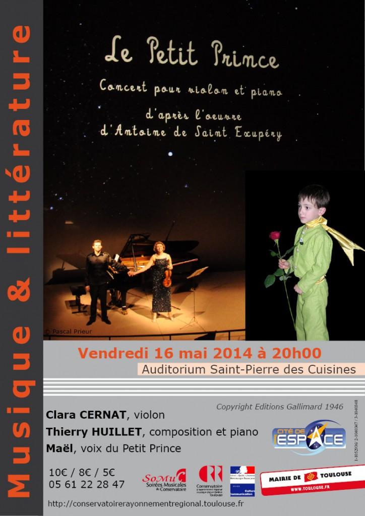 Concert Petit Prince Toulouse 16.05.2014
